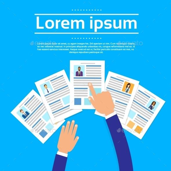 Curriculum Vitae Recruitment Candidate Job - Concepts Business
