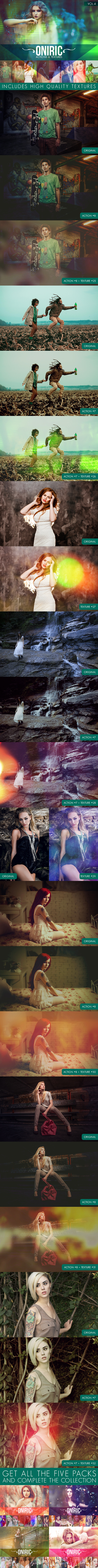 Oniric Actions and Textures Vol.4 - Photo Effects Actions