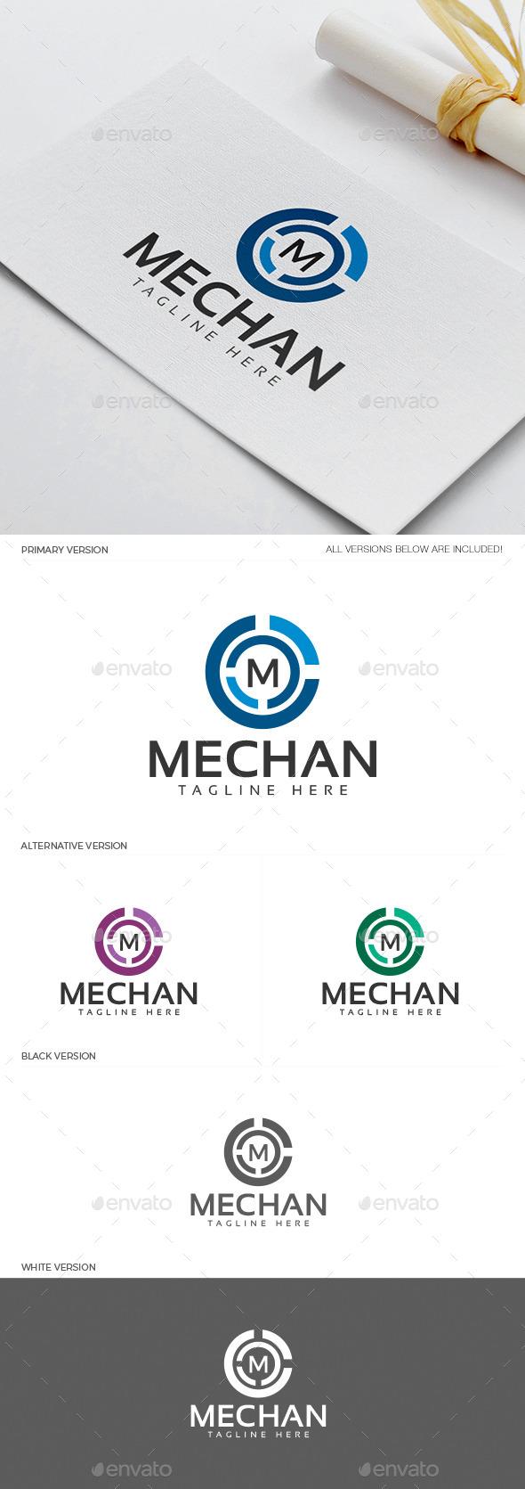 Mechan Logo - Letters Logo Templates