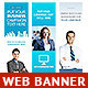 Corporate Web Banner Set Bundle 15 - GraphicRiver Item for Sale