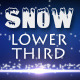 Snow Lower Third 1