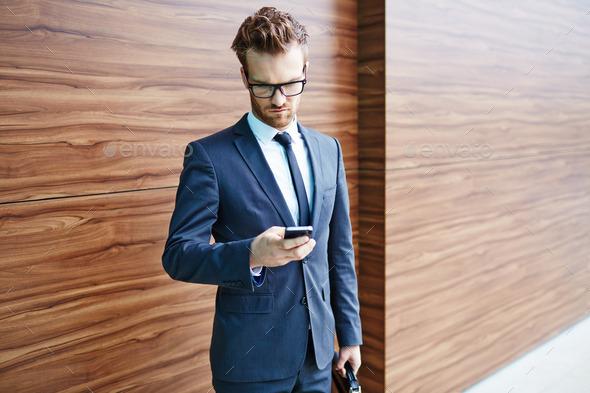 Mobile communication - Stock Photo - Images