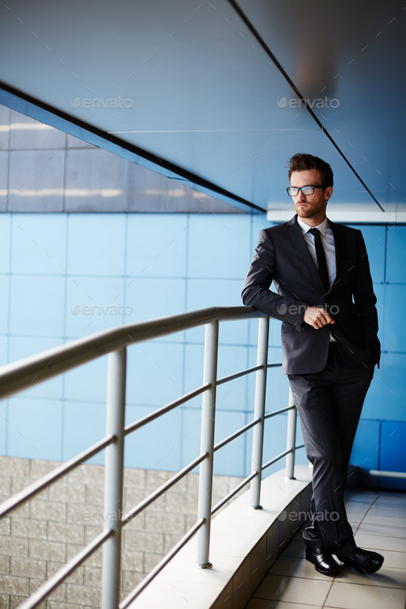 Manager in suit - Stock Photo - Images