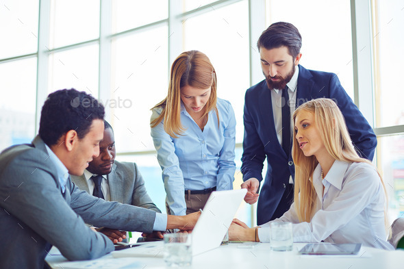 Business communication - Stock Photo - Images