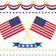 us flag decor set - GraphicRiver Item for Sale