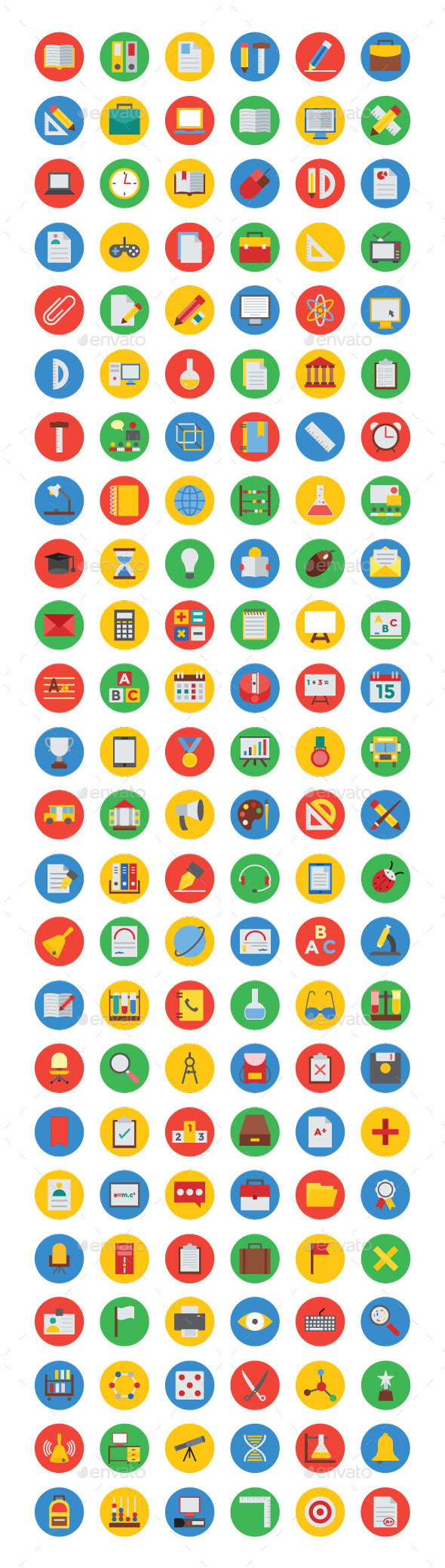 125+ Education Vector Icons - Icons