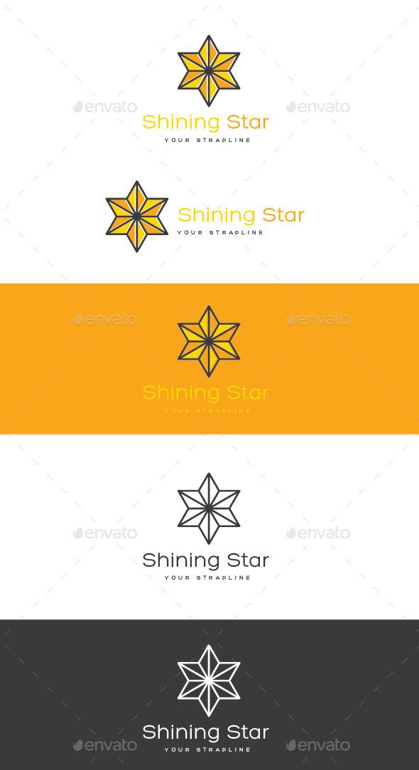Shining Star Logo - Symbols Logo Templates