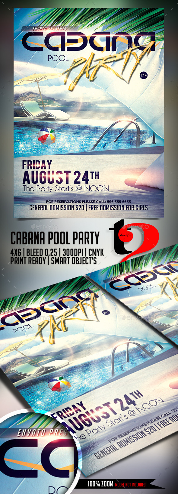 Summer - Cabana Pool Party - Clubs & Parties Events
