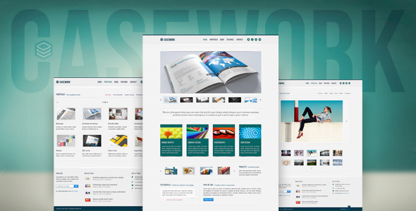 Casework – Design Studio Portfolio & Blog Template