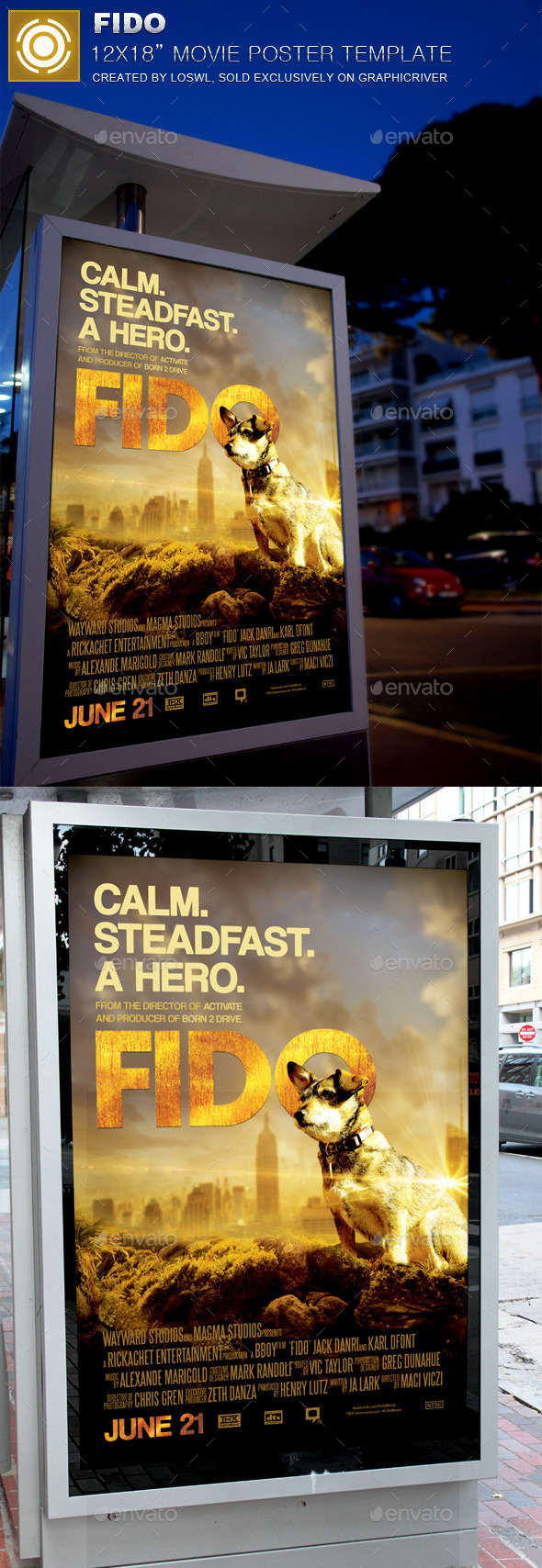 Fido Movie Poster Template - Miscellaneous Events