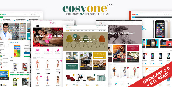 CosyOne – Multipurpose Opencart Theme