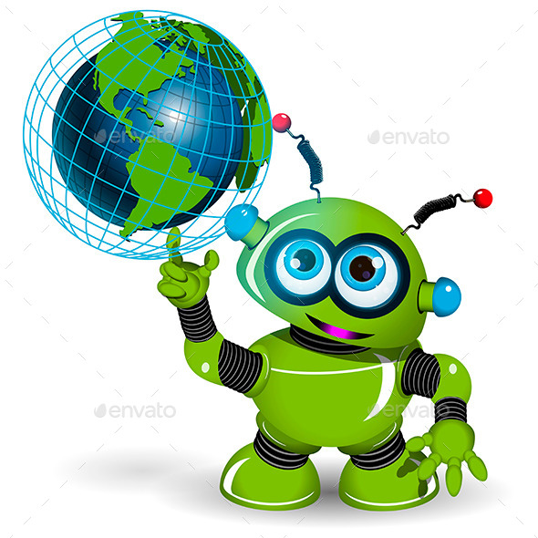 Robot and Globe - Miscellaneous Characters