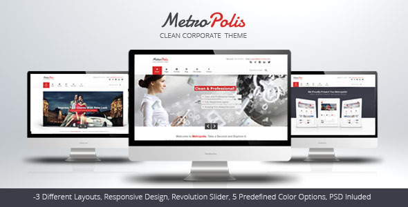 Metropolis – Clean Multipurpose Theme