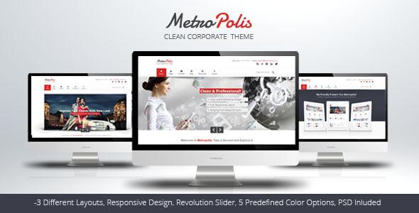 Metropolis – Clean Multipurpose Theme