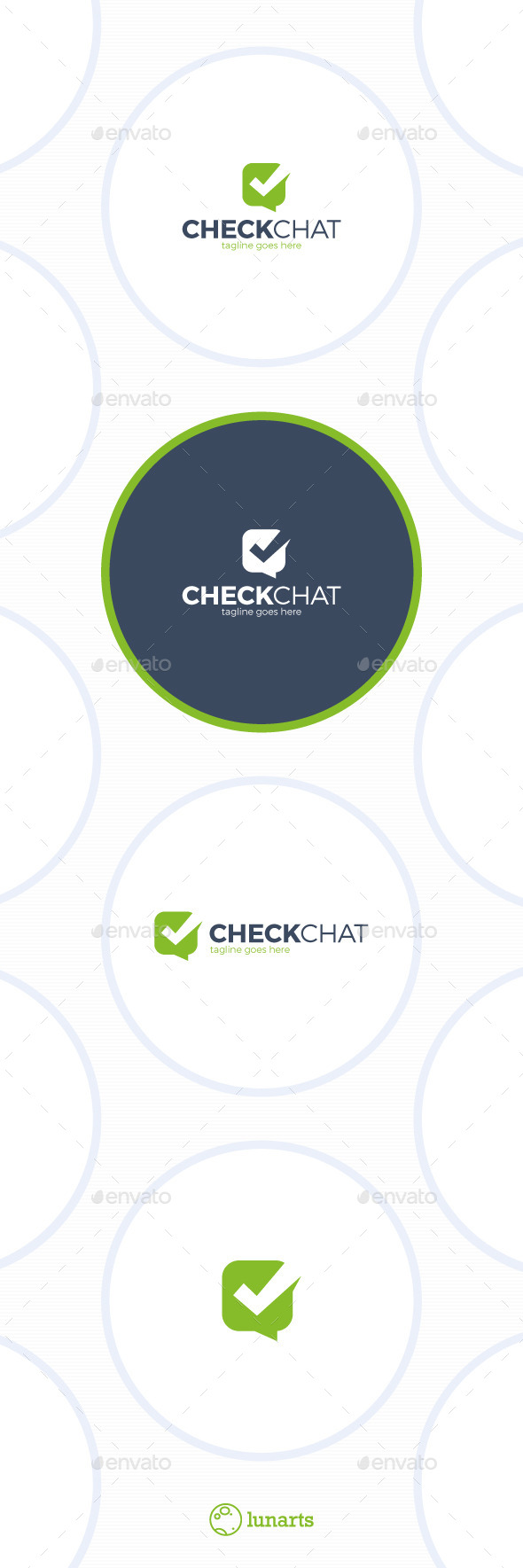 Check Chat Logo - Choice - Symbols Logo Templates
