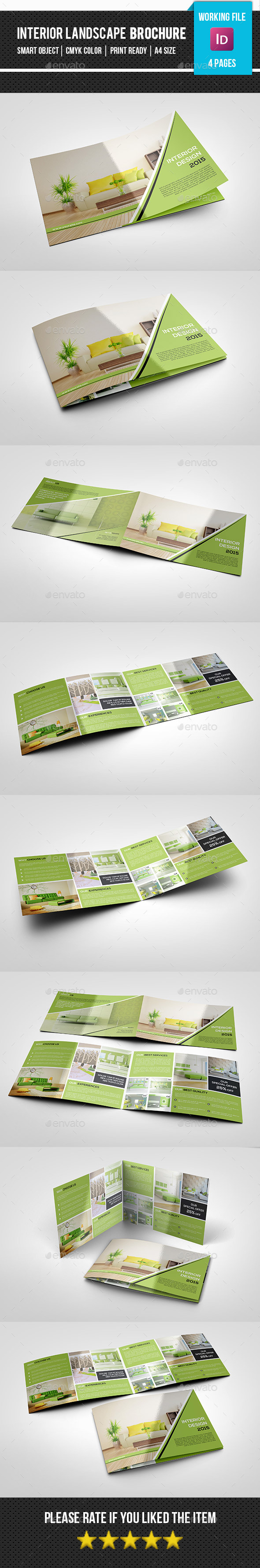Bifold Interior Design Studio Brochure-V269 - Corporate Brochures