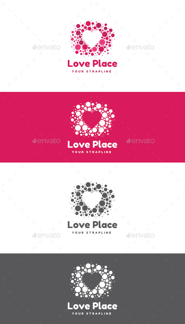 Love Place Logo - Symbols Logo Templates