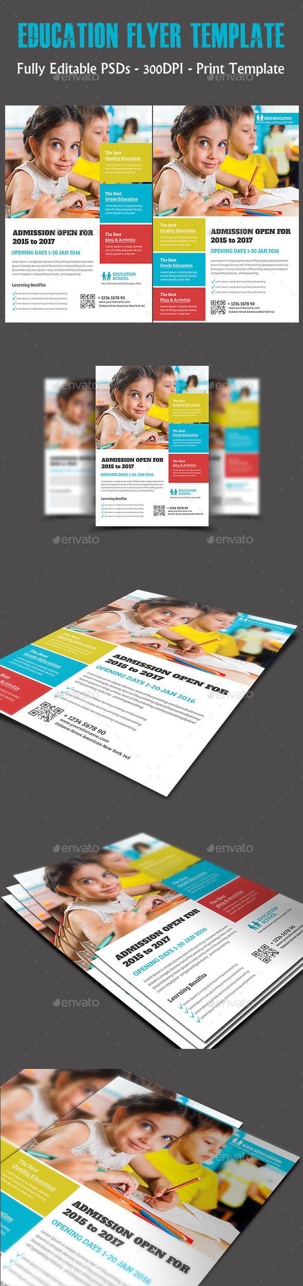 Education Flyer Temp - Flyers Print Templates