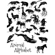 Animal Alphabet Poster for Children - GraphicRiver Item for Sale