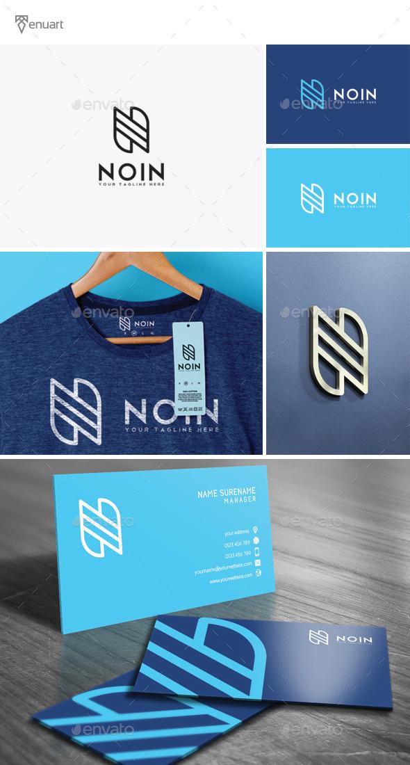 Noin - Letter N Logo - Letters Logo Templates