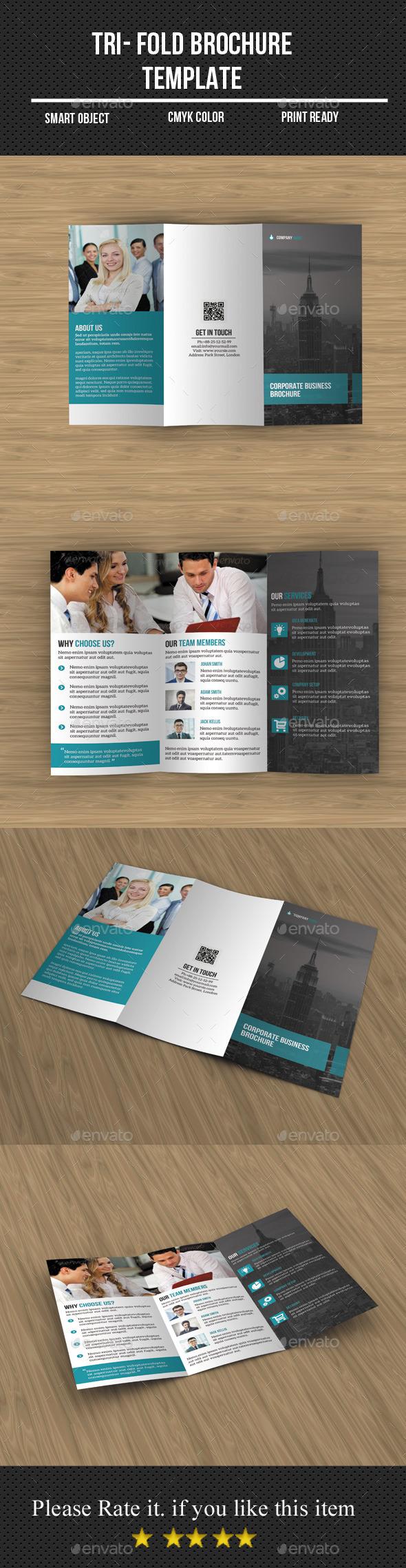 Tri- Fold Business Brochure  - Corporate Brochures