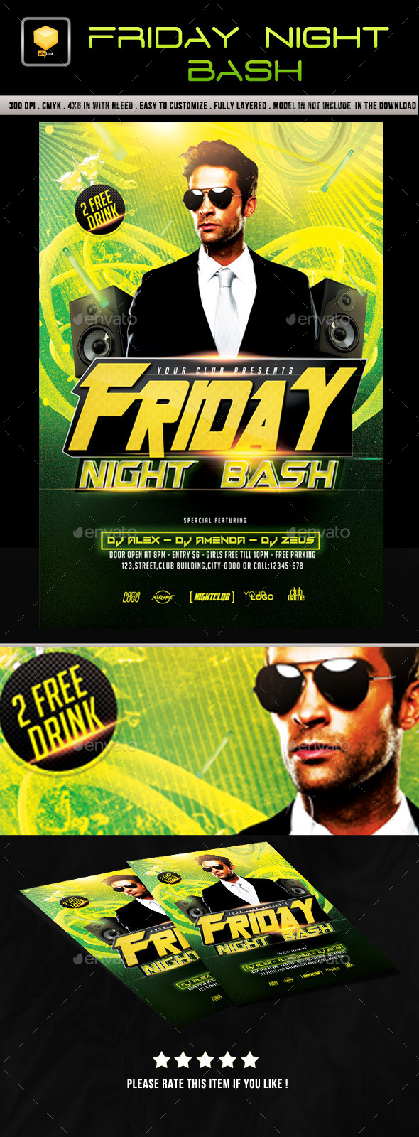 Friday Night Bash - Clubs & Parties Events