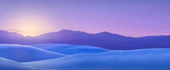 Blue dunes 1680x1050