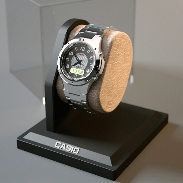 CASIO Watch  - 3DOcean Item for Sale