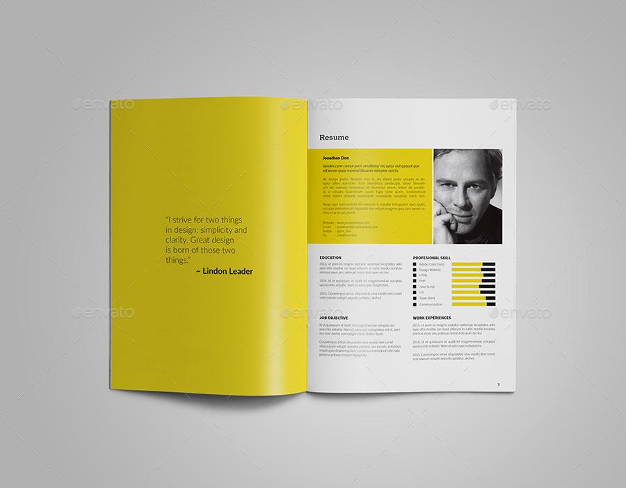 portfolio template by vanroem graphicriver