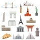 Architecture, Monument Or Landmark Icon. - GraphicRiver Item for Sale