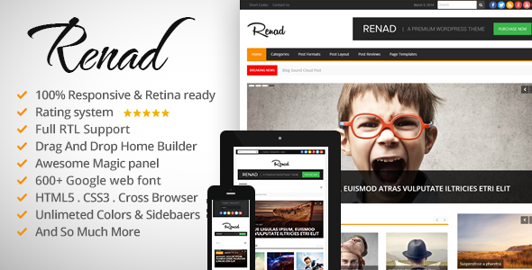 News Renad – News Magazine Newspaper