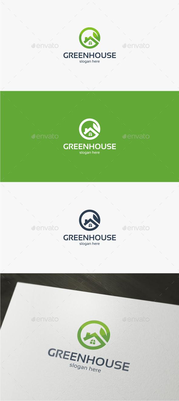 Green House - Logo Template - Buildings Logo Templates