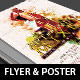 Art Wine Mixer Poster Flyer Template - GraphicRiver Item for Sale