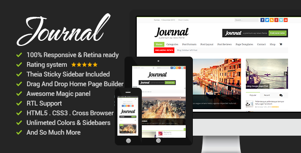 News Journal – News Magazine Newspaper