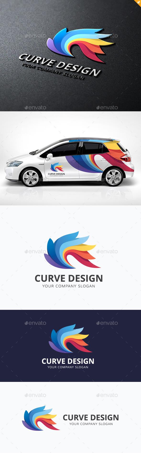 Curve Design - Abstract Logo Templates