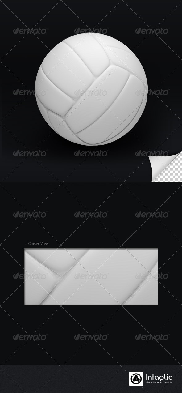 Volley Ball 3D Render - Objects 3D Renders