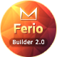 Ferio - Responsive Email + MailBuild Online - ThemeForest Item for Sale