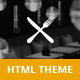 Restaurant | One Page Restaurant HTML5 Theme - ThemeForest Item for Sale