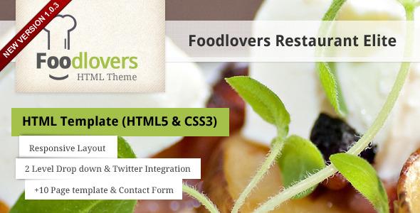 Foodlovers Restaurant Elite - Preview
