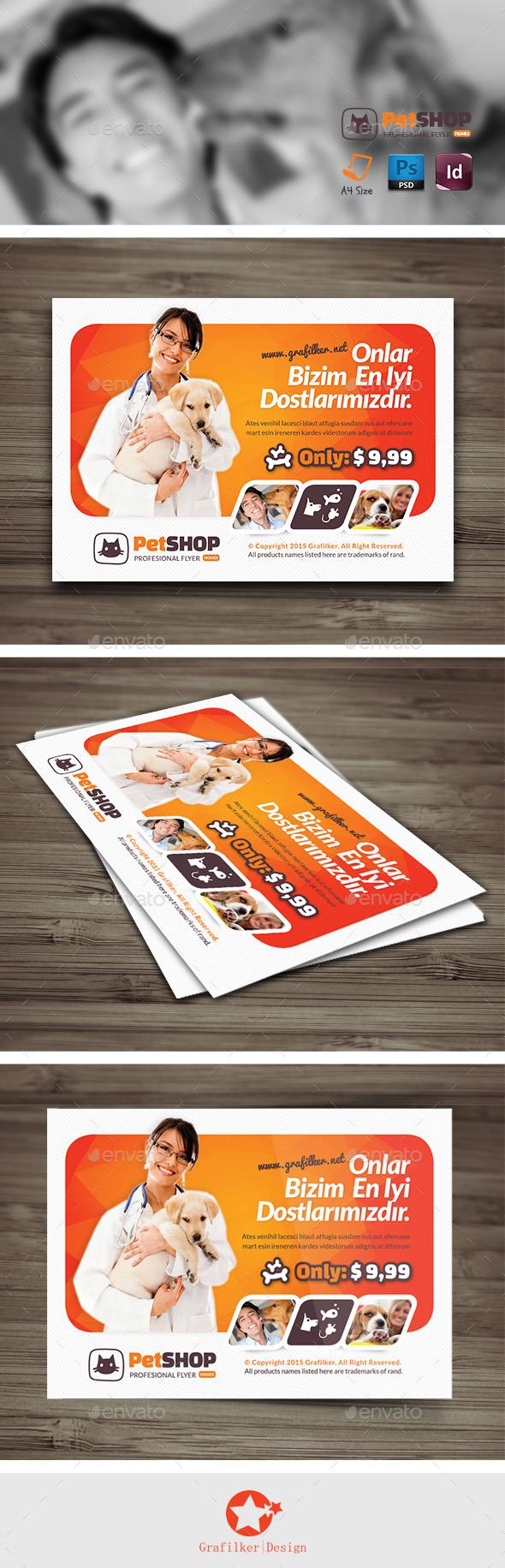 Pet Shop Flyer Templates - Corporate Flyers