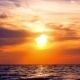 Amazing Sunset On The Beach With Beautiful Sky - VideoHive Item for Sale