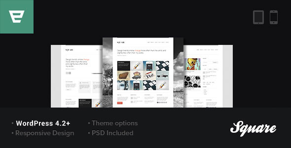 Square – Responsive WordPress Theme