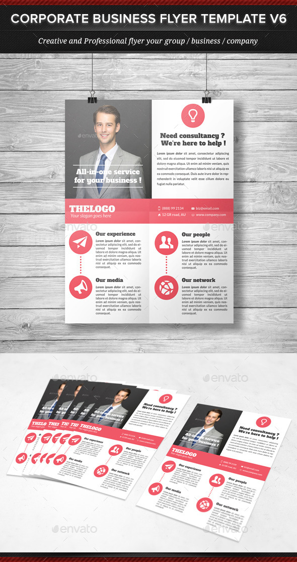 Corporate Business Flyer Template V6 - Corporate Flyers