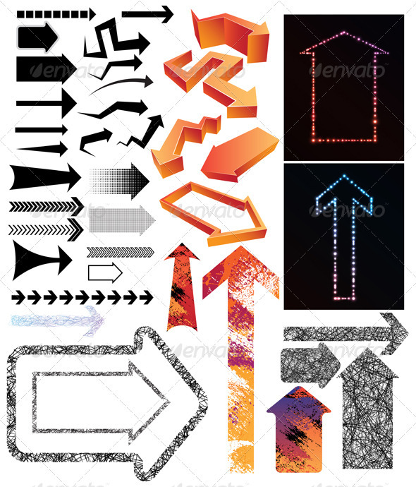Arrow collection - Miscellaneous Vectors