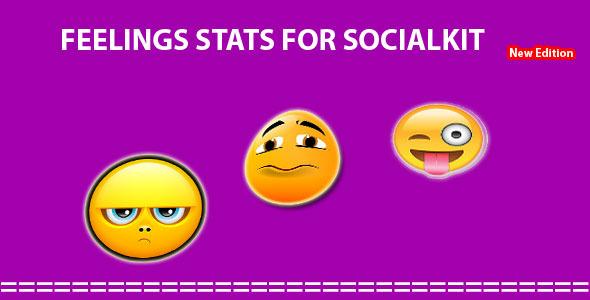 Get now Feeling Stats for Socialkit