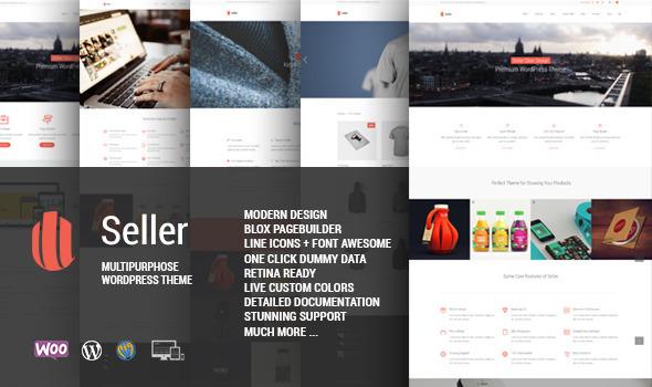 Seller - Responsive MultiPurpose Theme