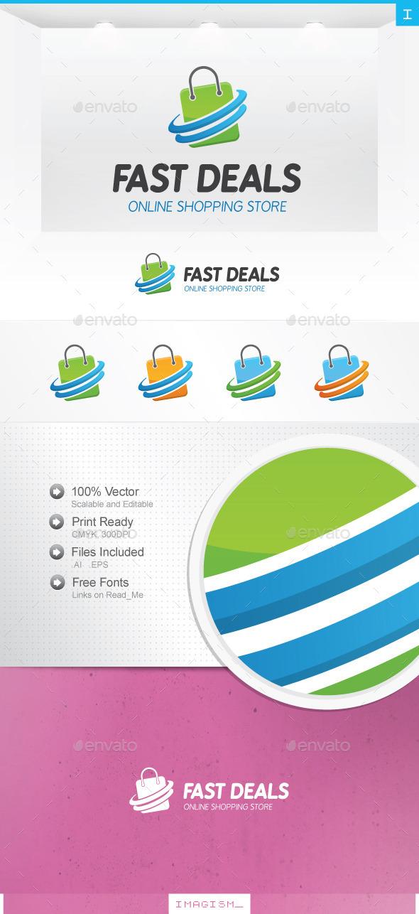Fast Shop Logo - Symbols Logo Templates