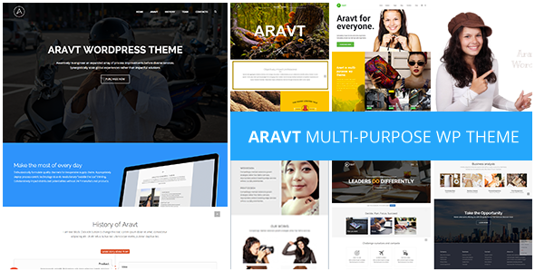 Aravt – Creative MultiPurpose Theme