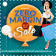 Zero Margin Offer Sale Flyer - GraphicRiver Item for Sale