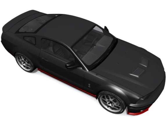 Ford Shelby Mustang GT500 - 3DOcean Item for Sale